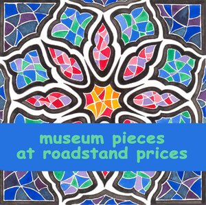 Museum art at roadstead prices